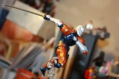 Revol Mini Gray Fox (Xomak) Tags: toys figure grayfox kaiyodo metalgearsolid yamaguchikatsuhisa cyborgninja metalgearsolidthetwinsnakes frankjaeger revolmini