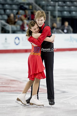 Ellie Fisher / Parker Brown - CO (Danielle Earl Photography) Tags: figureskating icedance parkerbrown noviceicedance elliefisher elliefisherparkerbrown