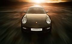 motion sports car speed photography 911 super front turbo german porsche kev carrera haworth