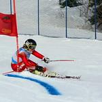 Mikayla Martin, 2nd at Schweitzer GS PHOTO CREDIT: Derek Trussler