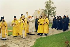 93. Освящение малого Всехсвятского храма 2004 г