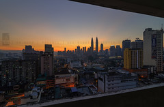 City Window (ku.mohd) Tags: city building sunrise cityscapes chow kit klcc chowkit petronastwintower gmplaza kumohdpixedix kumohd