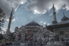 Hagia Sophia (36tragos) Tags: travel turkey sophia haghia