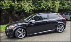 2012 Volvo C30 (NoJuan) Tags: volvo carshow carshows c30 volvoc30 micro43 microfourthirds olympusartfilter xxxdriveinissaquah olympusep5 1232mmpanasonic
