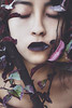 (Tc photography.Perú) Tags: portrait selfportrait nature purple lips tcphotography