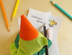 Querido Gnio da Lmpada... (BoniFrati) Tags: birthday cute diy craft aniversrio tutorial pap bexiga lembrancinha reciclvel bonifrati faavocmesmo