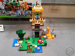 Toy Fair 2015 LEGO Minecraft 26 (IdleHandsBlog) Tags: toys lego videogames buildingsets minecraft toyfair2015