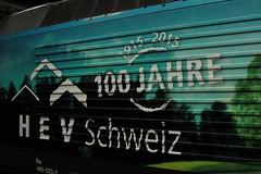 SBB Lokomotive Re 460 023 - 5 mit Taufname Wankdorf und Werbung 100 Jahre HEV Schweiz ( Hauseigentümerverband => Werbelokomotive seit 07.01.15 => Hersteller SLM Nr. 5484 => Baujahr 1993 ) am Bahnhof Zürich HB im Kanton Zürich der Schweiz (chrchr_75) Tags: chriguhurnibluemailch christoph hurni schweiz suisse switzerland svizzera suissa swiss chrchr chrchr75 chrigu chriguhurni februar 2015 albumbahnenderschweiz albumbahnenderschweiz201516 schweizer bahnen eisenbahn bahn train treno zug sbb cff ffs werbelokomotive re 460 lokomotive re460 albumsbbre460 schweizerische bundesbahn bundesbahnen lok albumbahnsbbre460werbelokomotiven juna zoug trainen tog tren поезд паровоз locomotora lokomotiv locomotief locomotiva locomotive railway rautatie chemin de fer ferrovia 鉄道 spoorweg железнодорожный centralstation ferroviaria werbung