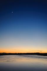 Sundown (PogiPete) Tags: sunset river nikon sundown gloucestershire severn d700 epney