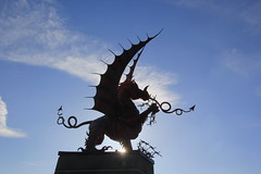 Welsh Dragon Memorial. WW1 The Somme. (Seckington Images) Tags: flickr ww1 somme