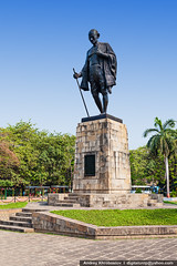 Mahatma Gahdhi statue (digitalcrop) Tags: park new old portrait sculpture india inspiration man history monument statue bronze hope memorial peace symbol delhi indian president politics bald landmark center gandhi hero figure politician historical leader independence mumbai philosopher gandi mahatma nonviolence