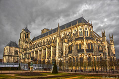 Cathdrale de Bourges (Aimeric3) Tags: bourges nef cathdrale