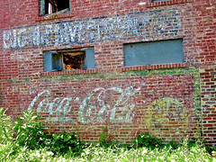 Ghost Signs, Jackson, MS (Robby Virus) Tags: street signs brick wall mississippi ghost ad coke jackson advertisement faded cocacola farish