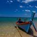 Aow Kwang Peeb (Monkey Beach). Koh Phayam, Thaïlande.