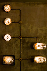 Lights (Garaygreen) Tags: barcelona light car canon eos rebel lights t3 nacional 1100d