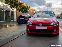 Protarmac-11 (Gon Cancela) Tags: car vw golf volkswagen 1 coruña galicia coche bmw bbs coupe serie coupé tsi mkvi mk6 125i e82 protarmac