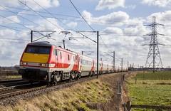 91124.Weston.2.3.15 (deltic17) Tags: train virgin passenger eastcoast dvt virgintrains mark4 class91 virginlivery ic225 1s13 virgineastcoast