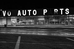 Salvo Auto Parts (steve.walsh) Tags: salvoautoparts signage parkinglot baltimore maryland urban neon fullerton