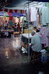 people in the city (Steve only) Tags: film rain zeiss t 50mm kodak contax snaps carl 1750 epson 100 quartz cy 139 planar ektar f17 5017 peopleinthecity 139q tstar v750 gtx970