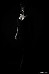 Esmeralda (Manuel Alejandro - Pasin Fotografica) Tags: 2016 portrait retrato woman mujer girl female sexy sensual sensuality attractive blancoynegro blackandwhite blanconegro blackwhite bw bn interior indoor inside estudio studio lighting lightingschemas mask mascara 50mm mexico mexicocity cdmx personas people gente monochrome monocromatico lowkey clavebaja canon canon7d eos eos7d fashion glamour body cuerpo aficionadosalafotografia
