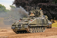 Stormer, Tank Fest 2016, Bovington Tank Museum (harrison-green) Tags: tank fest tankfest 2016 bovington bovingdon museum army british armour armor combat engineering engineer vehicles vehicle truck supply recovery acrv crv shgp steven harrisongreen tractor canon eos 700d sigma 18250mm outdoor titan bridgelayer bridge layer challenger 2 chasis railroad car stormer anti aircraft sam