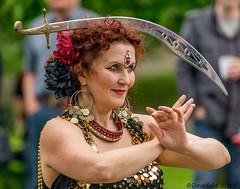 The Belly Dance Flames (daveduke) Tags: sonya7m2 sonyilcea7m2 sony70300mmfegoss bellydanceflames bellydancer matlock buxtonfringefestival