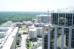Bank of America Tower View from Roof (Visit North Hills) Tags: raleigh midtown northhills bankofamericatower fromroof parkdistrict midtownraleigh jonmasterson