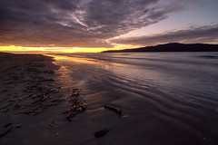 Sunset at Paraparaumu Beach (Jos Buurmans) Tags: beach coastallandscape coastline evening kapiticoast kapitiisland landscape nature newzealand northisland paraparaumu paraparaumubeach seascape sunset wellington nz