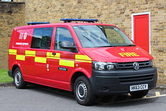 Hampshire Fire And Rescue Volkswagen Transporter Command Support (Ben Greenwood 999) Tags: rescue volkswagen fire support hampshire and command transporter hk63ccy