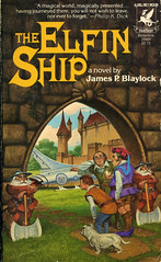 Novel-The-Elfin-Ship-by-James-Blaylock (Count_Strad) Tags: dragons adventure elf fantasy novel dungeons tsr dragonlance