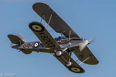 Hawker Demon - Old Warden Edwardian Pageant 2016 (harrison-green) Tags: gister old warden shuttleworth collection air show airshow 2016 edwardian pageant aircraft aviation world war 2 two ii display shgp steven harrisongreen photography canon eos 700d sigma 150500mm 18250mm de havilland comet racer plane race grosvenor house mew gull outdoor vehicle airplane tiger 9 nine moth biplane trainer jet miles magister glider fauvel av36 airliner hawker demon
