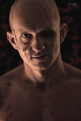 Frankenstein (tim_asato) Tags: portrait male face pecs monster model muscle retrato cara scars bold expresion musculo frankensteinmonster cicatrices frankenstain timasato lorealonso beautifullmag monsrtuo evgenykhovrin