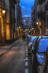 Calle Zurita. Madrid. (ithyrsus) Tags: street calle nocturno paisajeurbano urbanlandscape madrid spain