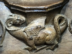 St David's Cathedral, Pembrokeshire (Sheepdog Rex) Tags: dragons misericords stdavidscathedral
