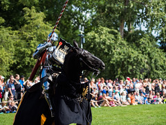 Lance up (markvall) Tags: turku hevonen keskiaika ritari turnajaiset horse knight medieval tournament jousting