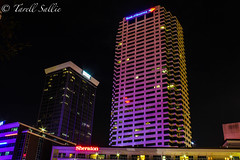 Park Tower x Bank of America Plaza. July 2016 (tarell_sallie) Tags: city longexposure copyright usa apple skyline america canon tampa landscape lights mac exposure downtown cityscape nightscape unitedstates tampabay florida july bank citylights bankofamerica nightlife bbt hillsborough lightroom slowexposure centralflorida 2016 macbook macbookpro hillsboroughcounty canont3i