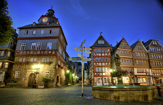 Herborn Market Place in Germany (Werner Kunz) Tags: ifttt 500px werkunz germany photo urban landscape city werner kunz seibel nikon wide angle photoshop hdr exposure blending dri dynamic range luminosity mask light house cityscape town d800 camera location portfolio time 2009 dynamicrange exposureblending herborn nikond90 urbanlights wernerkunz wideangle