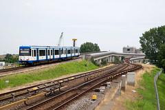 GVB 84+99 - Amsterdam Overamstel (rvdbreevaart) Tags: gvb m4 caf amsterdam overamstel metro sneltram openbaarvervoer nikon d3300