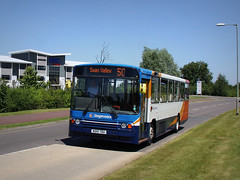 N215 TDU to the aid of the EE`s? (Jason 87030) Tags: bus volvo northampton july 50 swanvalley 2016 b10m 20215 pineham n215tdu