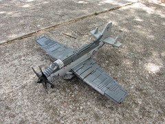 Fairey Gannet (Main) (.Tyler H) Tags: fairey gannet lego military models competition scale model plane british aew3