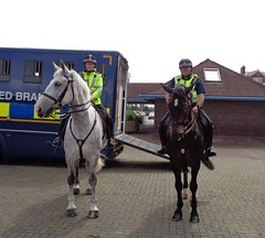 Lancashire Constabulary Mounted Branch in Blackpool (j.a.sanderson) Tags: lancashire constabulary mounted branch blackpool police policehorses horse horses riding