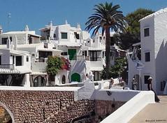 2148  Binibeca, Menorca (Ricard Gabarrs) Tags: casa calle calles pueblo binibeca ricardgabarrus rue street ricgaba olympus villa aldea