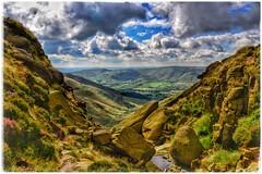 Crowden Clough (jim-green777) Tags: hopevalley valley landscape outdoor outside walking hiking 2016 august crowdenclough kinderscout uk britain england nationalpark thepeakdistrict derbyshire fx fullframe nikond610