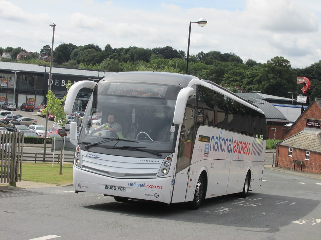 Coach Tours From Chesterfield