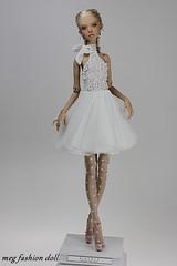 My dress for Popovy Doll '' Ecru '' (meg fashion doll) Tags: my dress for popovy doll ecru