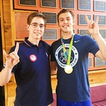 College of Natural Resources student Olympians! Lucas Kozeniesky and Ryan Held both competed in the 2016 Summer Olympics.