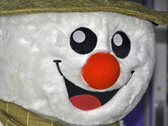 The Snowman - Christmas Lights Event (Tim Dennell) Tags: lights sheffield christmaslights citycenter 2014 switchon