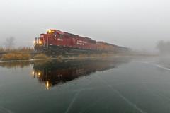 CP 6234 - Vergas, MN (John Fladung) Tags: railroad train canadianpacific cp frozenlake sd60 detroitlakessub emdsd60 mixedmanifest cp6234 vergasmn