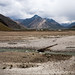 Landscapes en route Zanskar valley in India