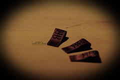 Tiny Embroidered Labels... (Red Ribboned Dolls) Tags: leather redribbon handmade 14 labels bjd bags etsy embroidered abjd msd redribboneddolls